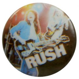 Rush - 'Guitars Stage' Button Badge